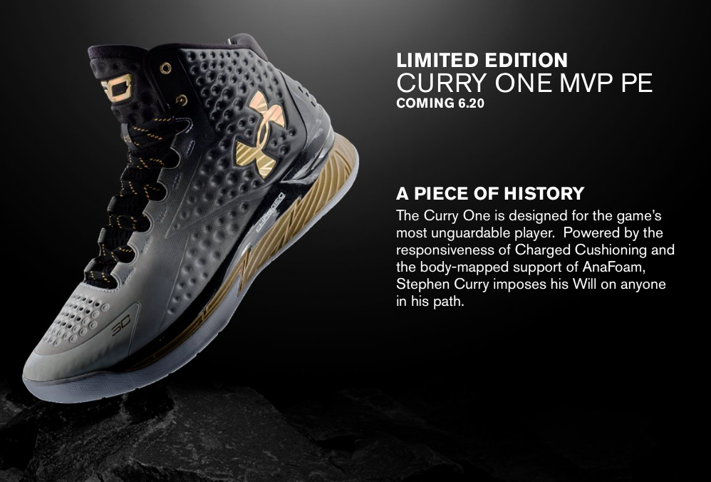 Zapatillas Under Armour Curry One